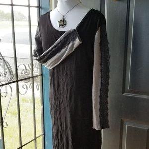 Women's W118 By Walter Baker Dress Sweater Black M